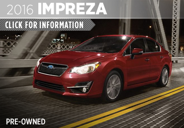 Click to View Our 2016 Subaru Impreza Model Information in San Diego, CA