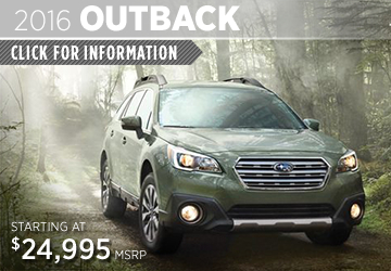 Click to View 2016 Subaru Outback Model Information
