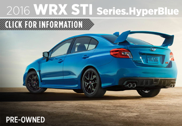 Click to View Our 2016 Subaru WRX STI Series.HyperBlue Model Information in San Diego, CA