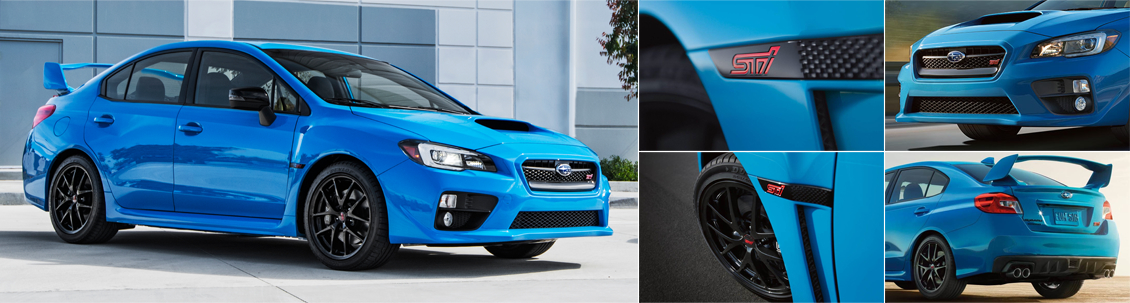 2016 Subaru WRX STI Series.HyperBlue Model Exterior Design