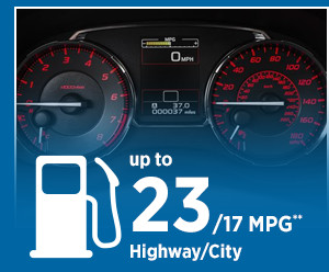 2016 Subaru WRX STI Model MPG