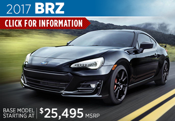 Click to research the new 2017 Subaru BRZ model serving Sacramento, CA