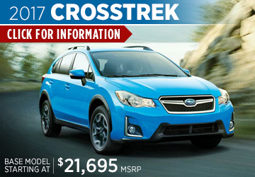 View details on the New 2017 Subaru Crosstrek at Renick Subaru in Fullerton, Serving Long Beach, CA