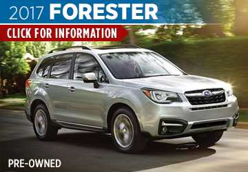 Click For 2017 Subaru Forester Model Details in Shingle Springs, CA