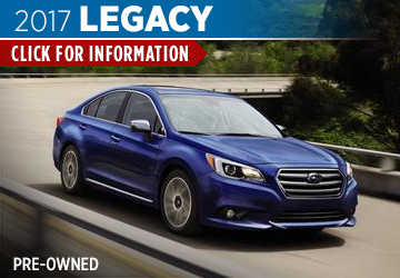 Click For Pre-Owned 2017 Subaru Legacy Model in San Bernardino, CA