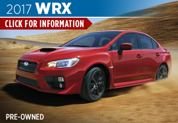 Click For Pre-Owned 2017 Subaru WRX Model in San Bernardino, CA