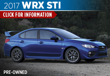 Click to research the pre-owned 2017 Subaru WRX STi model in Columbus, OH
