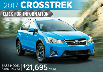 Click to research the 2017 Subaru Crosstrek model in Surprise, AZ
