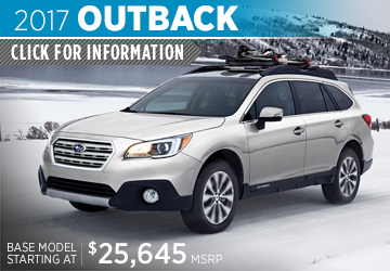 Click to research the new 2017 Subaru Outback model in Bloomington-Normal, IL