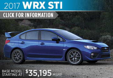 Click to research the new 2017 Subaru WRX STI model in Portland, OR