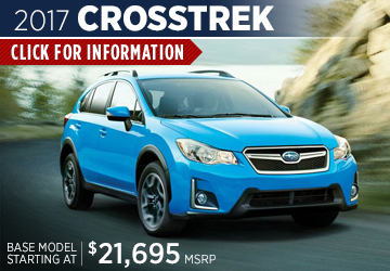Click to research the 2017 Subaru Crosstrek model serving San Francisco, CA
