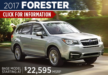 Click to research the 2017 Subaru Forester model serving San Francisco, CA