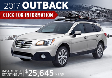 Click to research the 2017 Subaru Outback model serving San Francisco, CA