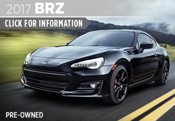 Click to research the new 2017 Subaru CPO BRZ model in San Diego,  CA