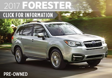 Click to learn more about the rugged 2017 Subaru CPO Forester in San Diego, CA