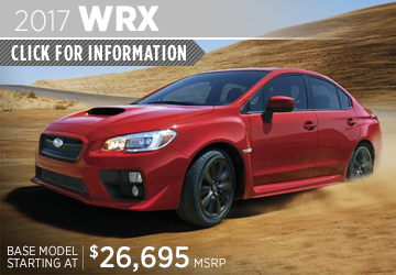 Click to research the new 2017 Subaru WRX model in San Diego, CA
