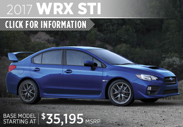 Click to research the new 2017 Subaru WRX STI model in San Diego, CA