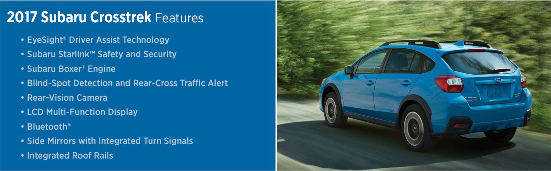 2017 Subaru Crosstrek Features