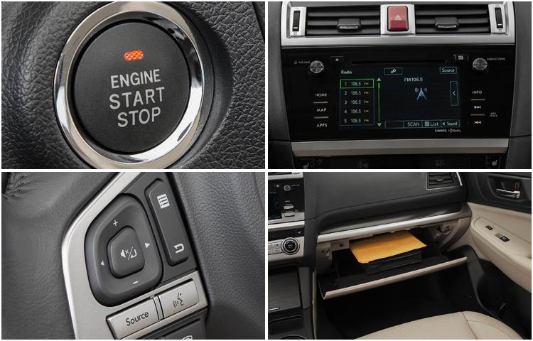2017 Subaru Legacy Model Interior Styling (1)