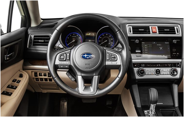 2017 Subaru Outback Model Interior Design (2)
