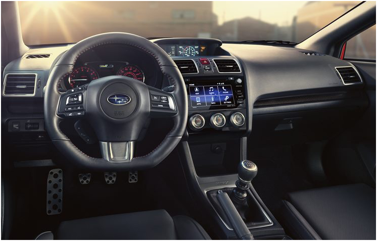 2017 Subaru WRX Model Interior Styling (2)