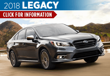 Click to research the 2018 Subaru Legacy model in Olympia, WA
