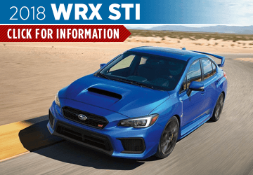 Browse our 2018 WRX STI model information at Shingle Springs Subaru