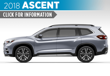 Click to browse our 2018 Ascent model information at Nate Wade Subaru in Salt Lake City, UT