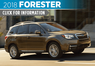 Click to research the 2018 Subaru Forester model in Seattle, WA
