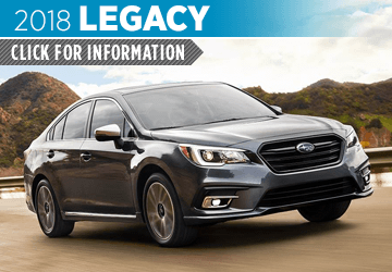 Browse our 2018 Legacy model information at Carter Subaru Ballard in Seattle, WA