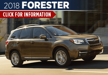 Click to view our 2018 Forester model information at Carlsen Subaru