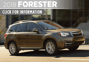 Click to learn more about the versatile new 2018 Subaru Forester in San Diego, CA