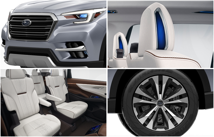 2018 Subaru Ascent Concept Model Design