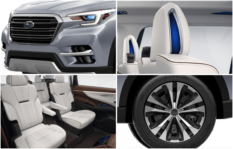 2018 Subaru Ascent Model Design