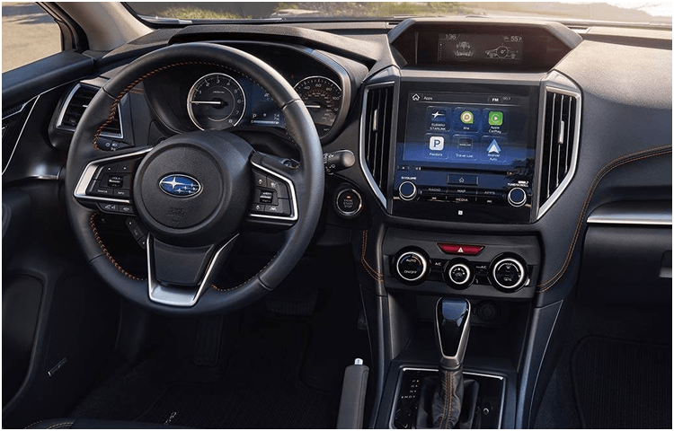New 2018 Crosstrek Interior Styling