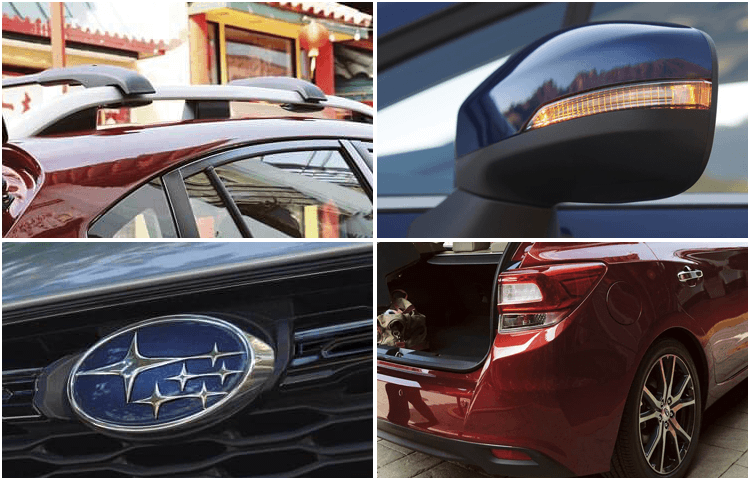 2018 Subaru Impreza Sedan Exterior Features