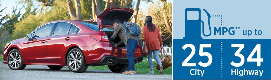 New 2018 Subaru Legacy Sedan Research Information