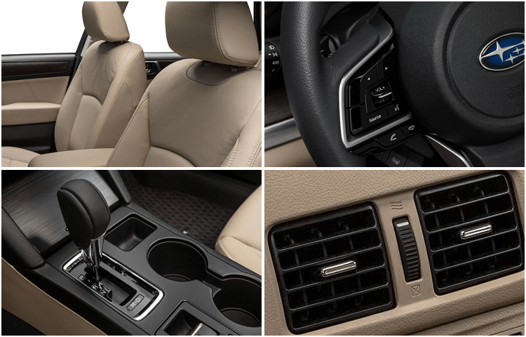 New 2018 Subaru Outback Interior Styling