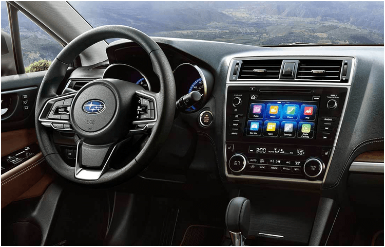 New 2018 Outback Interior Styling