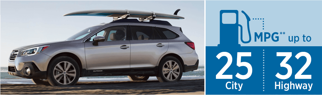 New 2018 Subaru Outback MSRP & MPG Information