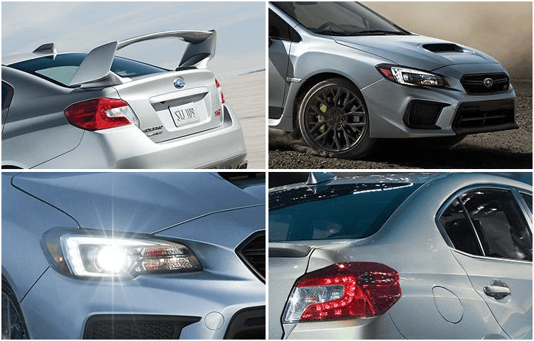 New 2018 WRX Exterior Styling
