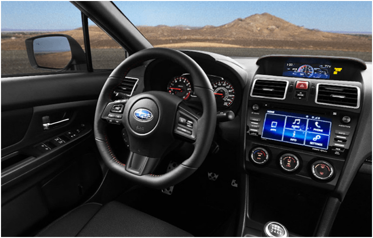 New 2018 WRX Interior Styling