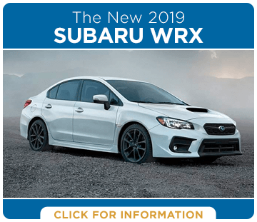 Click to browse our 2019 WRX model information at Carr Subaru in Beaverton, OR