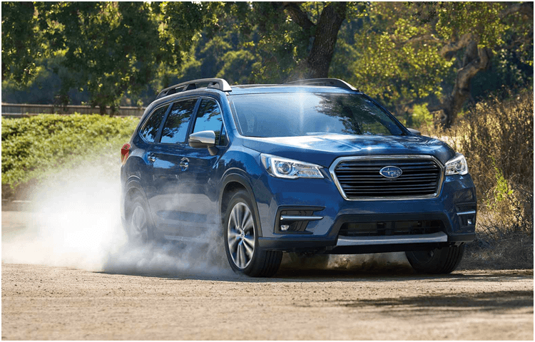Explore the 2019 Subaru Ascent exterior