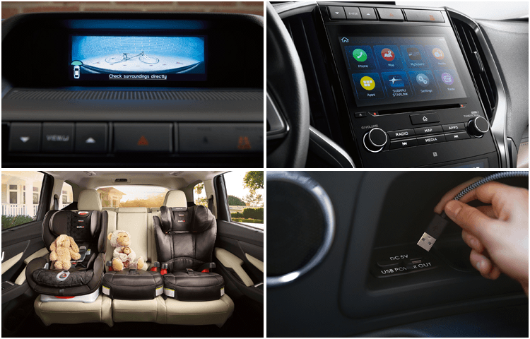 2019 Subaru Ascent interior design