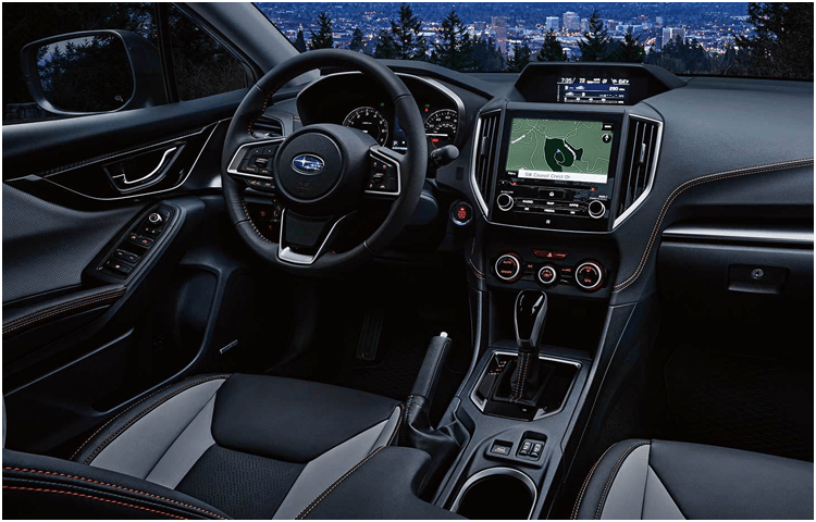 View The 2019 Crosstrek Interior Styling