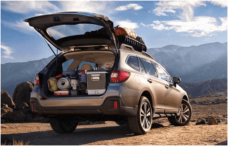 View The 2019 Subaru Outback Exterior Styling