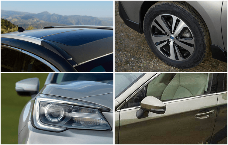 View The 2019 Outback Exterior Styling