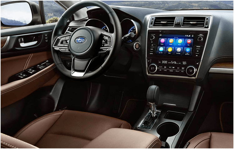 View The 2019 Outback Interior Styling