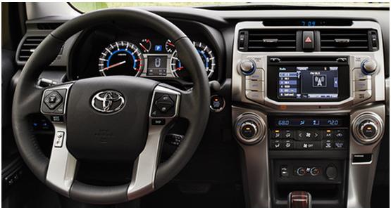 2016 Toyota 4Runner Interior Design